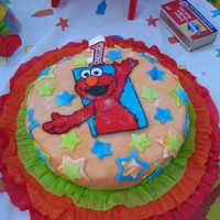 Elmo Loves You - Cake