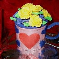 Valentine Coffee Cup Bouquet