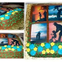 Fathers Day Window Cake