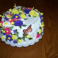 Mother Day Cake This is a demo Cake