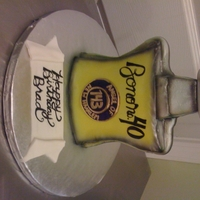 Bond No.9 Cologne Cake A cake for the ULTIMATE metrosexual male!! The birthday boy is a big fan of Bond no.9 New Haarlem cologne, and also the band U2. So we...