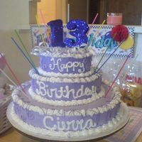 Cierras_Cake_13.jpg I made the cake for my daughters friends birthday. They all loved it.