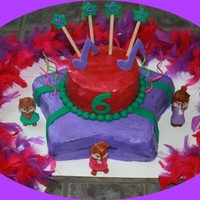 Chippette Rock Star My dd wanted a singing birthday as she loves to sing and perform. She got a real guitar for her gift and all the little ones got to be rock...