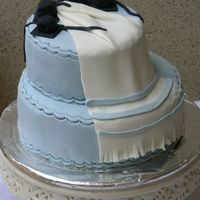 Twin Bar-Mitzvah Cake   The cake was made for my twin cousins. MMF.