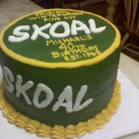 Skoal Wintergreen   All buttercream. Writing free-handed