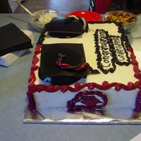 Jake And Ryan's Graduation Cake