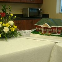 White Bluff City Hall Cake for the grand opening of towns new city hall