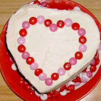 Mary Beth And Ricky's Valentine Cake I made this cake for my friend at work. She just said make me a valentine cake and let me totally design it. After making it I got 2 more...