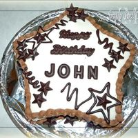 John's 7Th Birthday   I finally got around to using my chocolate molds for decorating -- had those forever!