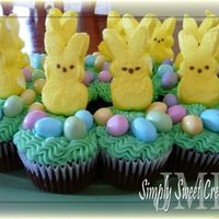 Easter Bunny Cupcakes   These were easy to make (and delicious too!)