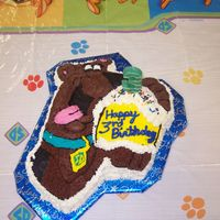 Scooby Doo   I did this cake for my son's 3rd birthday on Saturday. He loves Scooby-doo!!!