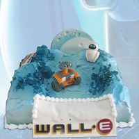 Walle Movie Theme Cake