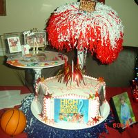 High School Musical This cake was for my niece, who like every other pre teen LOVES Troy !!
