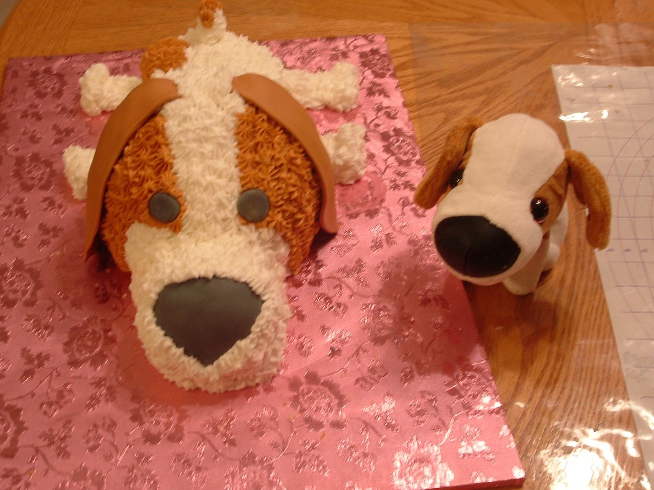 Puppy Love My friend asked me to make a cake that match her daughter's favorite toy
