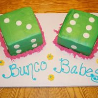 Bunco Babes Another Bunco cake!!!