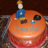 Fireman Sam   i had no idea what to do for this cake. i'd never even heard of Fireman Sam. they loved it anyway : )