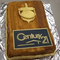 Century 21   Done for an Office Party. Shortly after the picture was taken some klutz spilled coffee all over it. sigh!