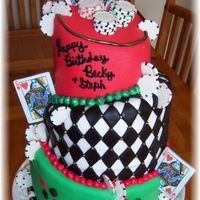 Queen Of Hearts Poker I was inspired for this one by the following cake: http://www.cakecentral.com/modules.php?name=gallery&file=displayimage&pid=...