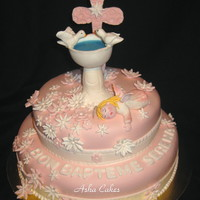 Christening Cake For Serena