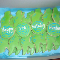 Dinosaur Cookies   NFSC with royal icing