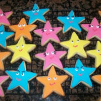 Dora Star Cookies   NFSC with royal icing