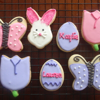 Easter Cookies   NFSC with royal icing