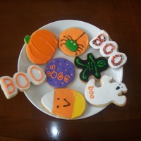 Halloween Cookies   NFSC with royal icing