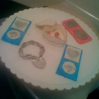 Ipod, Jewellery And More working with gumpaste...
