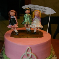 Irish Step Dancing Cake