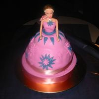 My First Barbiecake This is not an easy job but experiencing skills will make everything better