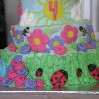 Ladybug Birthday This cake was for my daughter's 4th Birthday. One of my favorites