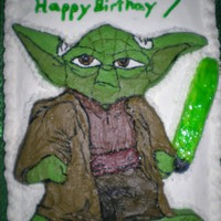 Yoda Yoda for my friend's son's birthday party!