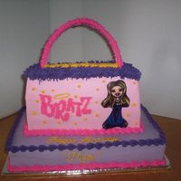 Another Bratz Purse   Ok, I am going crazy with the bratz's purse. This is the 5th on I've done...