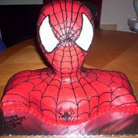 Spiderman For An Adult   Ok, this one was for a 26th year old man...It was a success...thanks again to the CC for all the support and tutorial....