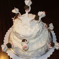 Baptism - Angel Cake