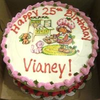 Strawberry Shortcake BC with edible image