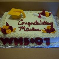 Weymouth High Graduation   another copy of my daughter's cake