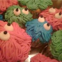 Closeup Monster Cupcakes This is just a close up so you can see a little better- I've got to get a real camera!