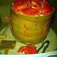 Bushel Of Crabs All fondant & gumpaste accents...