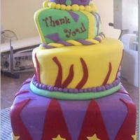 Whimsical Cake For A Big Outdoor Party