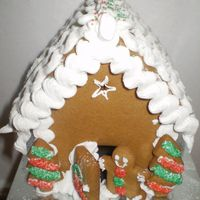 A Christmas Gingerbread House