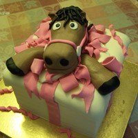 Kids Cake This cake was for a little girl who wanted a pony for her birthday.