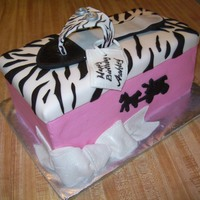 My First Shoe Box Red velvet cake, cream cheese filling , mmf decor....