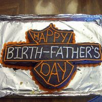 Dads-Cake-002.jpg This was a VERY last minute cake for my Dad who also had his birthday a few days before. I wish I had taken more time on the writing, but...
