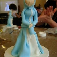 "Pretty Lady - Aine2 London Workshop May 2009 I love this lady that Lorraine had us make. It stands about 7"" tall. Although mine didn't turn out the way it was supposed to,..."