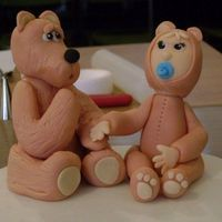 Baby Bears From London Workshop With Aine2 - May 2009 Lorraine McKay was an excellent teacher and I love these Baby Bears!