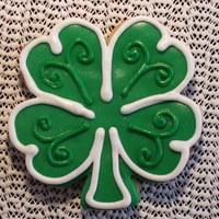 The Luck Of The Irish...and Practice Practice makes perfect and this took lots of that...simple design..thanks for taking a peek. C.