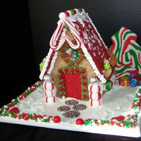 Gingerbread Gift Cottages