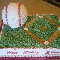 Baseball Birthday Inspiration from many of the cakes ehre on this site. Thanks for your creativity!