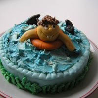 Swimming Class Cake I made this cake for the end of our class and for our getting licence for swimming teacher. I did it last year, this weekend I am going to...